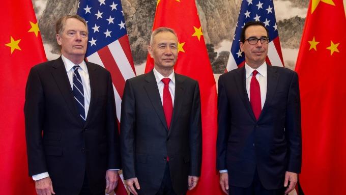 美中副部級談判結束,10月談判日期遲遲未定。(圖片:AFP)