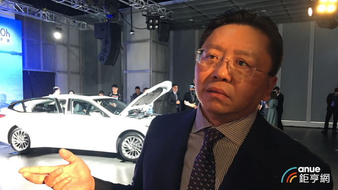和泰車總經理蘇純興上修LEXUS全年銷量。(鉅亨網資料照)