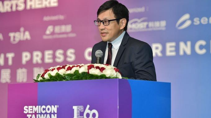 SEMI全球行銷長暨台灣區總裁曹世綸。(圖:SEMI提供)