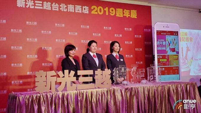 新光三越全台15店周年慶業績目標挑戰204億元,年增1%。(鉅亨網記者王莞甯攝)