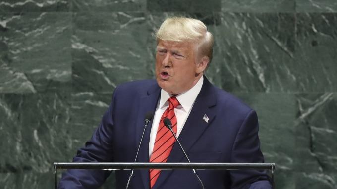 川普指責中國「玩弄」全球貿易體系,拒絕達成爛協議。(圖片:AFP)