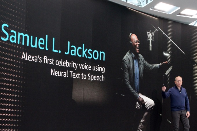 Alexa 首位自然語音模仿的名人對象 Samuel L. Jackson (圖片:AFP)