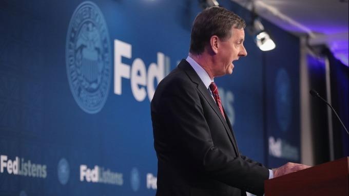 過去的鴿派代表Evans:美經濟前景佳 接下來不用再降息了(圖片:AFP/Getty Image)