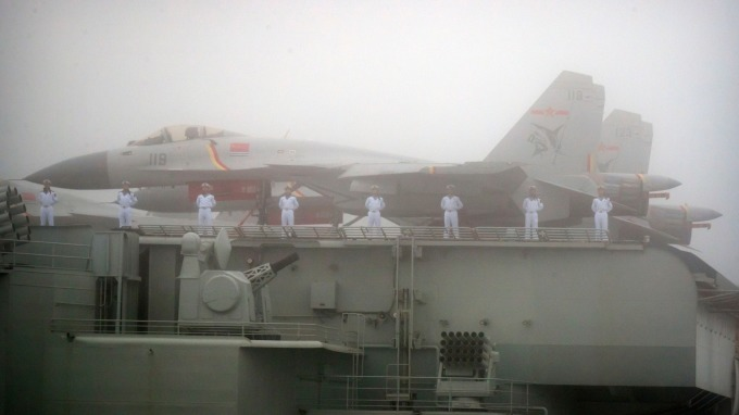 Zero Hedge:中國釋出新兩棲突擊艦 有能力侵略台灣(圖片:AFP)