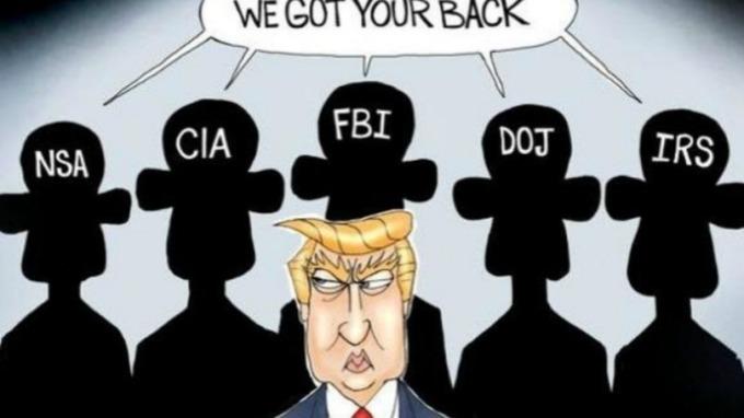吹哨者來自CIA?川普暗示要治「叛國罪」。(圖片:翻攝 zerohedge)