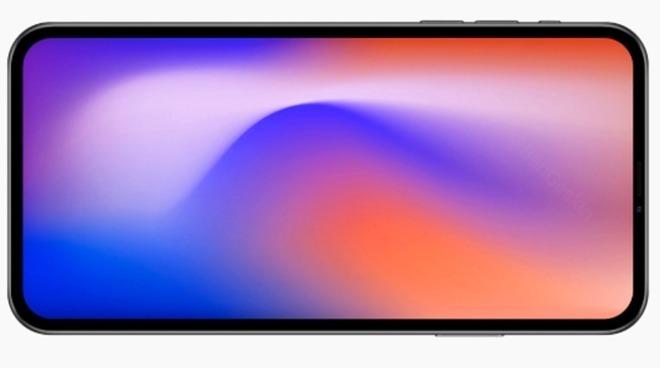 全螢幕設計的iPhone (圖片來源: BenGeskin推特)