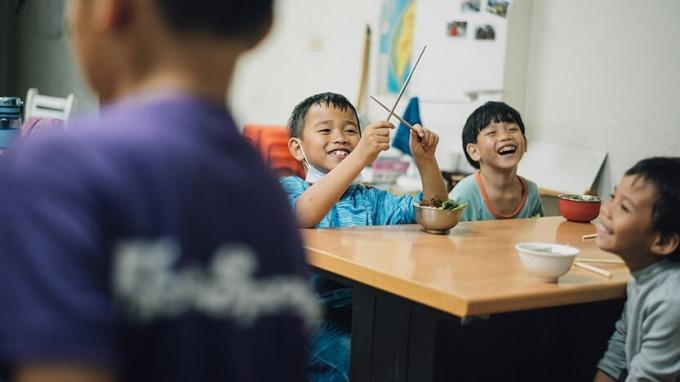 「孩子的書屋」不賣書,用陪伴讓孩子的心完整長大。(圖/孩子的書屋)