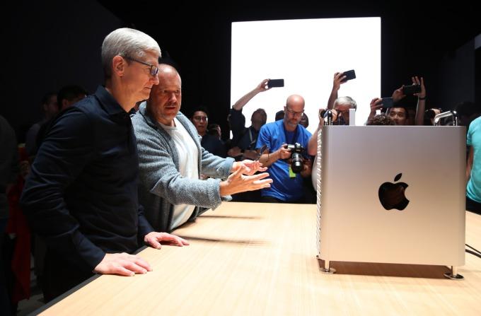 蘋果為 Mac Pro 等產品申請的關鍵元件豁免,15 項有 10 項已通過。(圖片:AFP)
