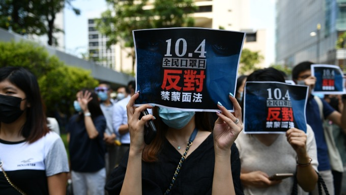 「香港示威/拜登調查」搬上美中談判桌?川普與白宮這樣回答 (圖片:AFP)