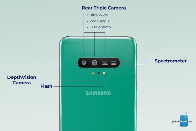 Galaxy S11 流出圖 圖片來源:Phone Arena