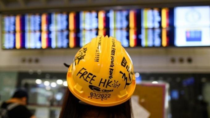 香港反送中抗議影響港股小 美中貿易才是主角(圖片:AFP)