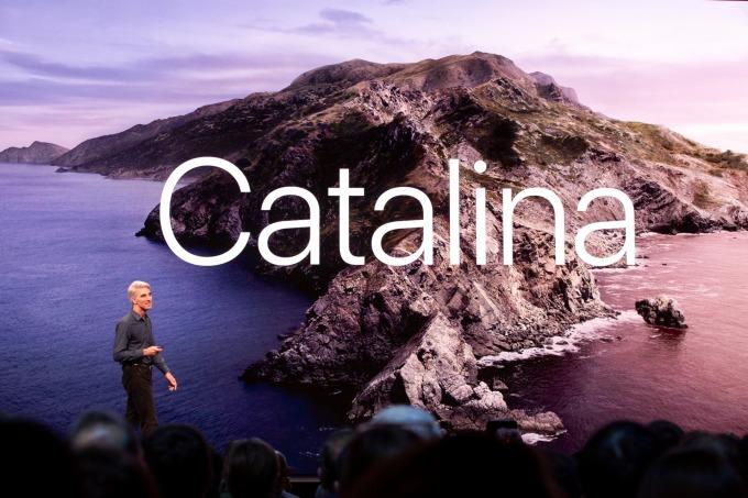 新一代 MacOS Catalina 系統釋出,Mac 用戶可立即下載。(圖片:AFP)