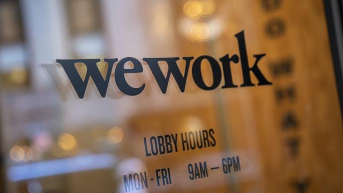 傳WeWork為確保企業重組費用 盼軟銀提供資金。(圖片:AFP)