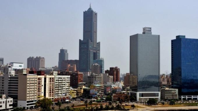 高雄85大樓。(圖:AFP)