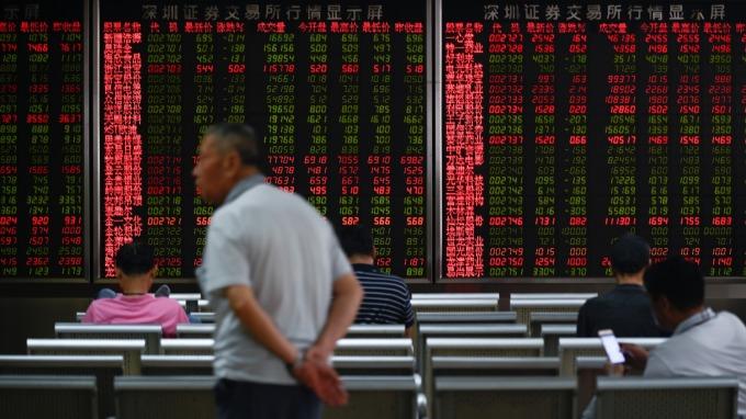 法興:美抑制資金流向中國 對陸股是「最糟情況」(圖:AFP)