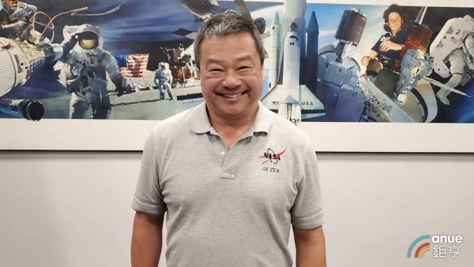 美國首位華裔太空站站長焦立中。(鉅亨網記者王莞甯攝)