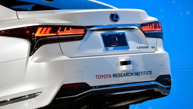 TOYOTA、GM、ARM等成立聯盟 加速自駕車研發  (資料照片) (圖片:AFP)