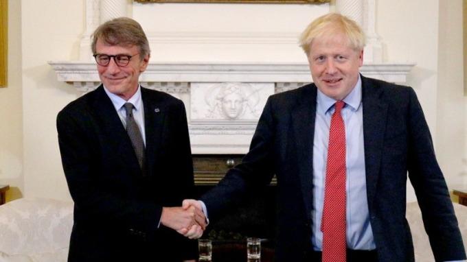 英國與歐盟接近談崩 高層官員互相指責對手(圖片:AFP)