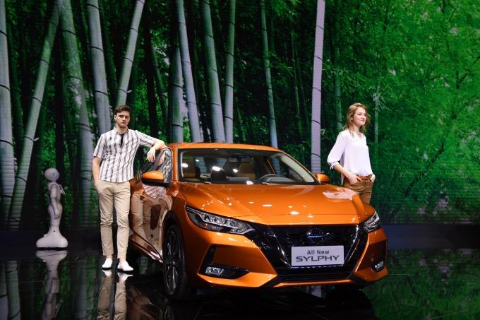 日產在中國市場的暢銷車軒逸 Sylphy (圖片:AFP)