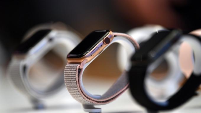 廣達不評論Apple Watch組裝業務,強調未來將以雲端為核心。(圖:AFP)