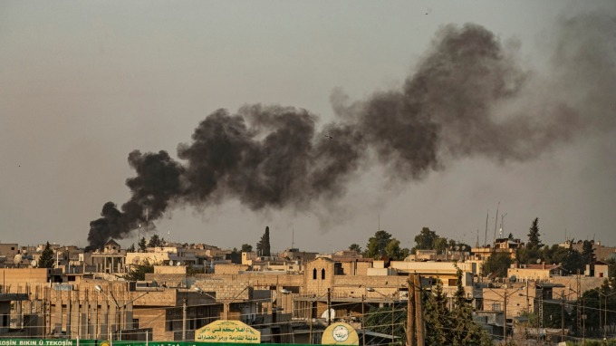 美軍前腳踏出 土耳其立即宣布出兵敘利亞 (圖:AFP)