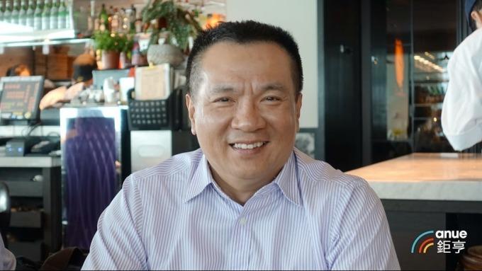 聯德-KY董事長徐啟峰。(鉅亨網記者張欽發攝)