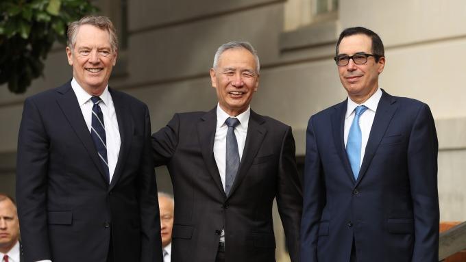 談判秘辛:中國要求美國解除中遠集團制裁。(圖片:AFP)