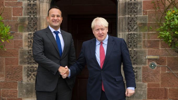 脫歐曙光!英國愛爾蘭相見歡 提有限FTA以結束僵局 (圖片:AFP)