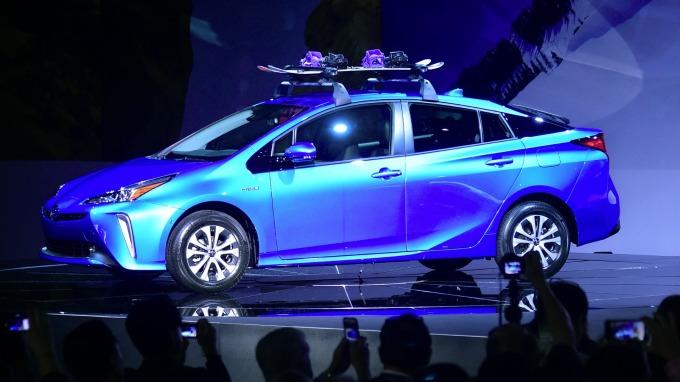 豐田推第二代氫燃料電動車Mirai 迎戰特斯拉(圖片:AFP)