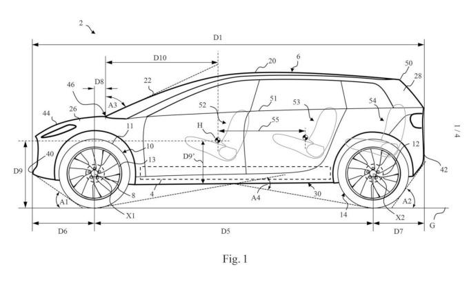 Dyson 電動車概念圖 圖片:Dyson