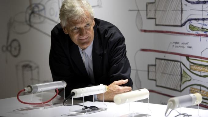 英國科技公司Dyson創辦人James Dyson (圖:AFP)