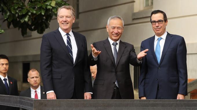 重磅突發!彭博:美中達成部分協議。(圖片:AFP)