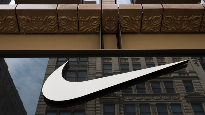Nike股價優於大盤 華爾街看漲(圖片:AFP)