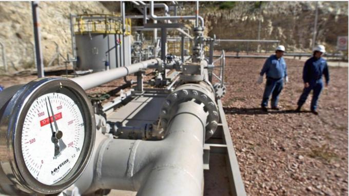 伊朗新天然氣油田產能4億萬桶 價值高達400億美元 (圖:AFP)