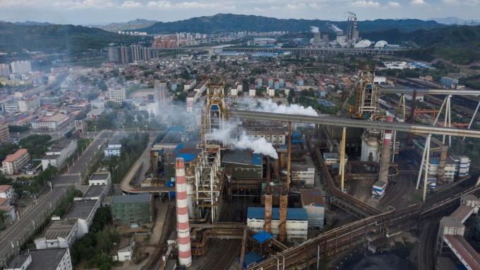 WSA:除中國以外 今年全球鋼鐵需求近乎停滯  (圖片:AFP)
