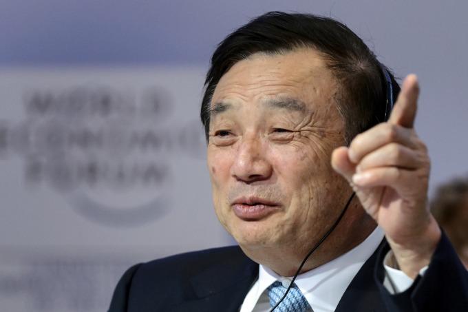 華為總裁任正非 (資料照片) (圖片:AFP)