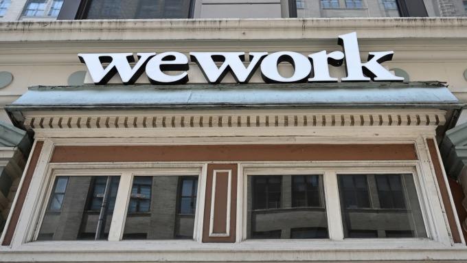 高盛減記WeWork持股估值8000萬美元 (圖片:AFP)