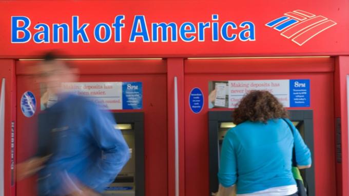 美國銀行Q3營收、EPS超預期 推動盤前上揚逾2% (圖:AFP)