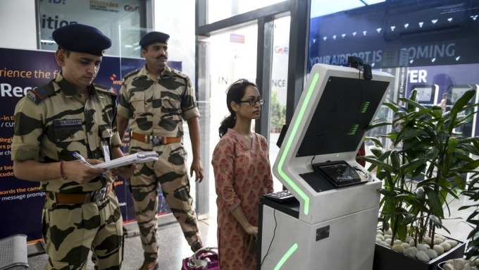 印度也陷人臉辨識爭議(圖:AFP)