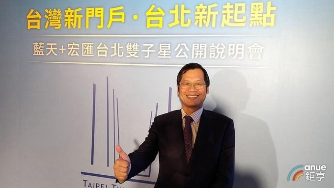 〈台北雙子星開發案〉藍天宏匯:預計最快2026年完工