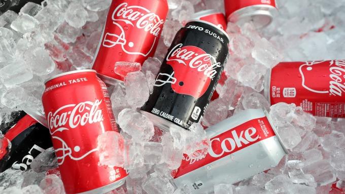 可口可樂Q3財報優於預期 早盤股價上漲 (圖片:AFP)