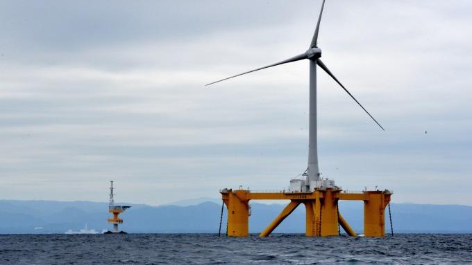 前9月僑外投資年增近1成,德商增資開發允能風電挹注大。(圖:AFP)
