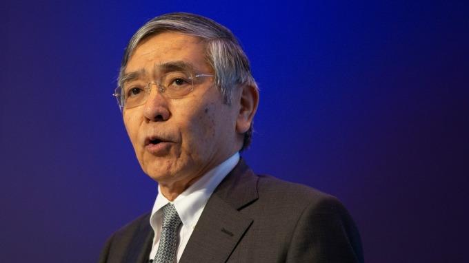 日本央行總裁黑田東彥暗示:有可能進一步擴大寬鬆  (資料照片) (圖片:AFP)