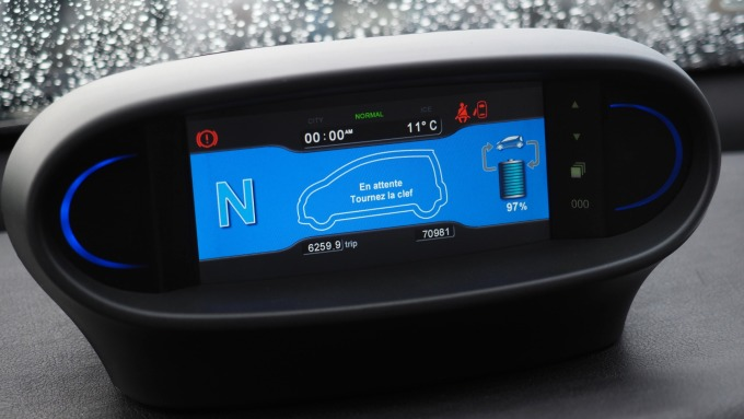 JOLED印刷式OLED面板 搭載於豐田LQ概念車上。(示意圖) (圖片:AFP)