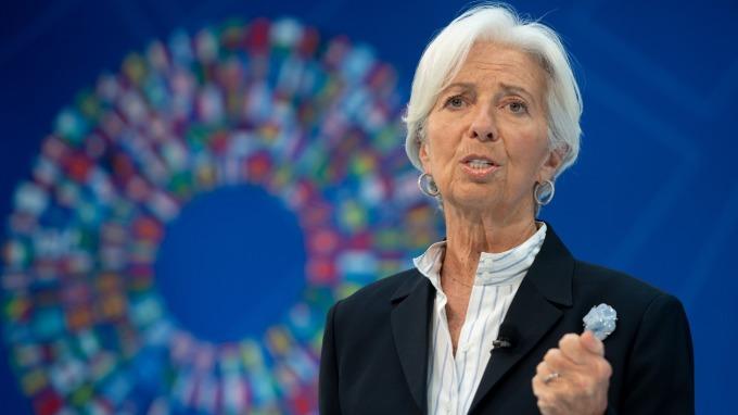 準歐洲央行總裁拉加德:美國正面臨失去全球領導者地位之風險  (圖片:AFP)