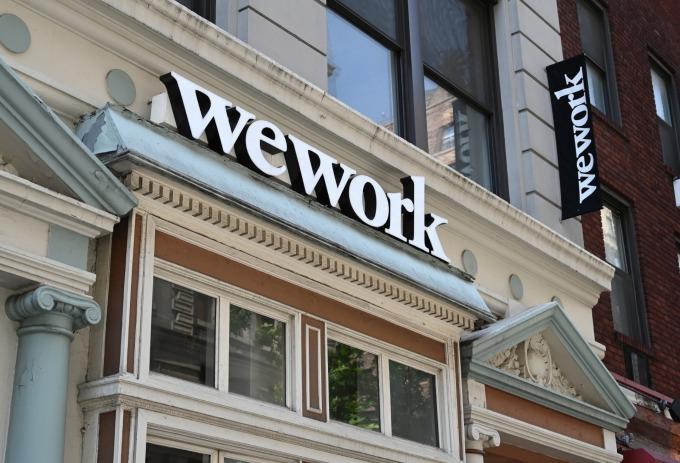 軟銀有意接手 IPO 失利的 WeWork(圖片: AFP)