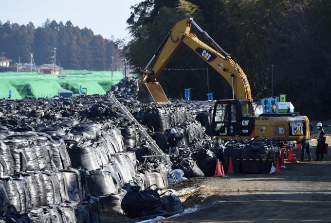 福島核廢因風災流失 南韓要求日本提出詳細資料。(資料照片) (圖片:AFP)