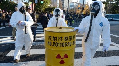 福島核廢料因風災流失 南韓要求日本提出詳細資料  (資料照片) (圖片:AFP)