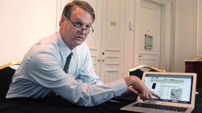 前eBay前行政總裁John Donahoe將出任Nike執行長(圖片:AFP)