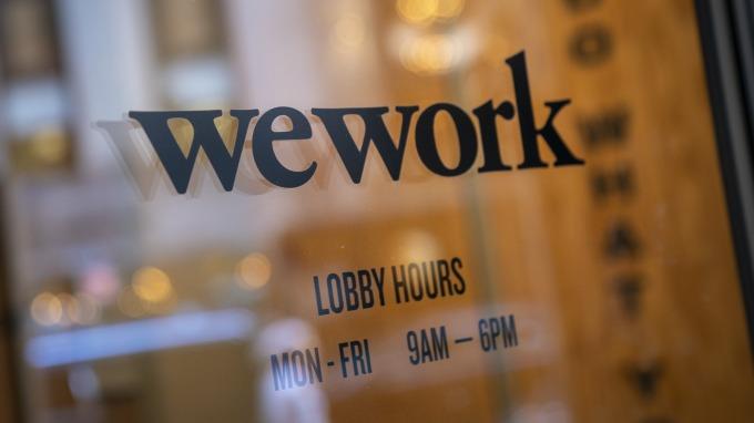 日經:軟銀集團將接手WeWork。(圖片:AFP)